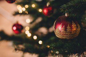 sne og rigtig jul